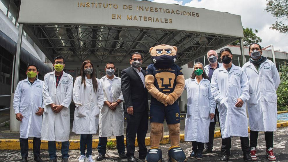 Desarrollan en la UNAM cubrebocas que puede inactivar el Covid-19