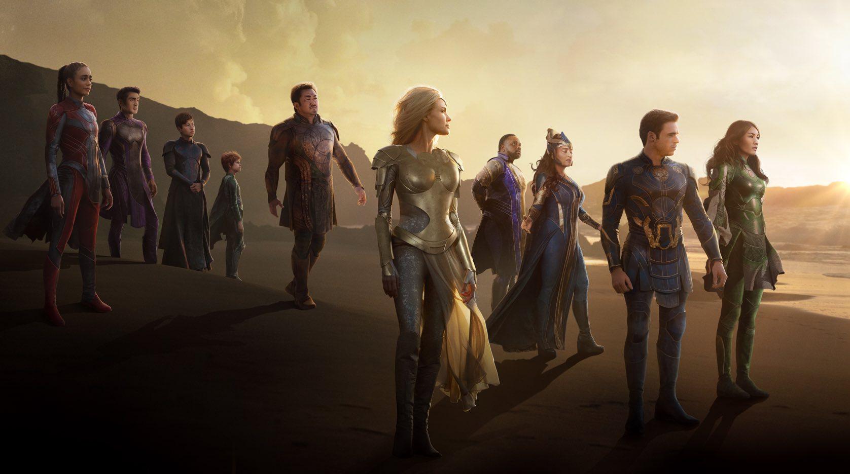 Trailer final de 'Eternals' nos anticipa el fin del mundo
