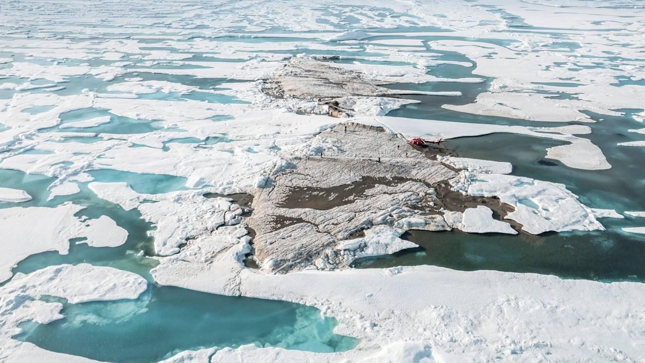 Descubren por casualidad la isla 'más al norte del mundo'