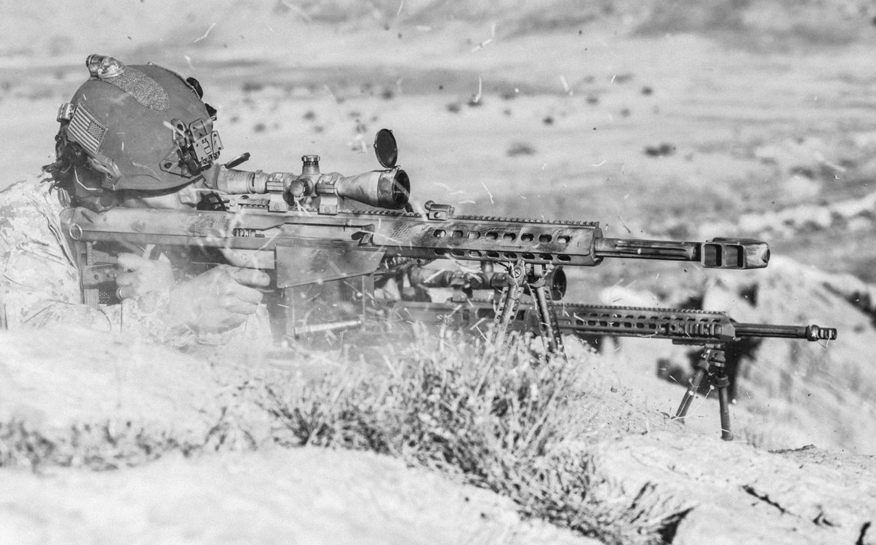 """Barrett M82, el """"arma de guerra"""" preferida por los narcos que aterrorizan México"""