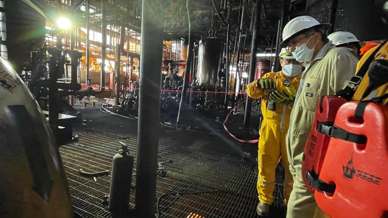Pemex estima recuperar  la totalidad de la producción afectada el próximo lunes