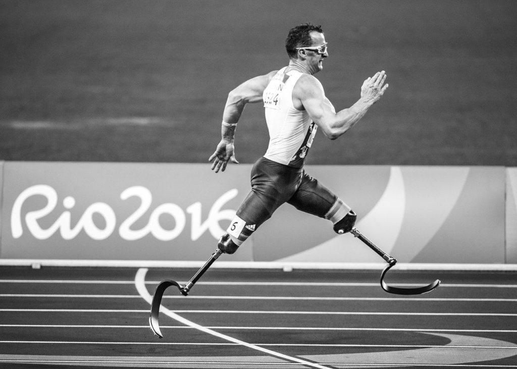 prótesis paralímpicos