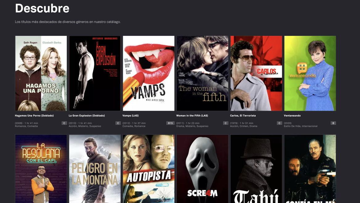 La plataforma gratuita de entretenimiento Tubi crece 2.4 veces en usuarios en un año en México