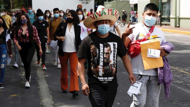 La pandemia en México