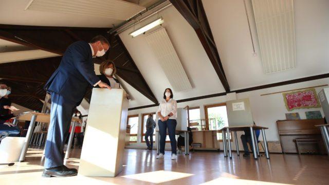 Elecciones en Alemania. Foto: EFE