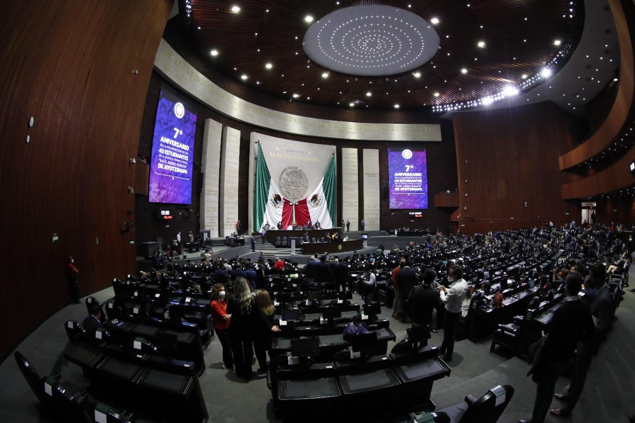 Diputados rehabilitan Salón de Sesiones y gastan 43.3 mdp