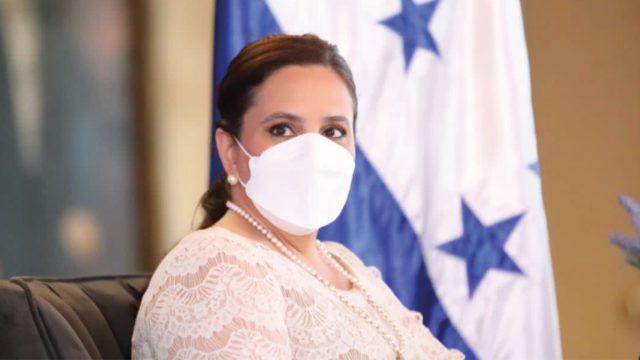 ana garcía primera dama Honduras
