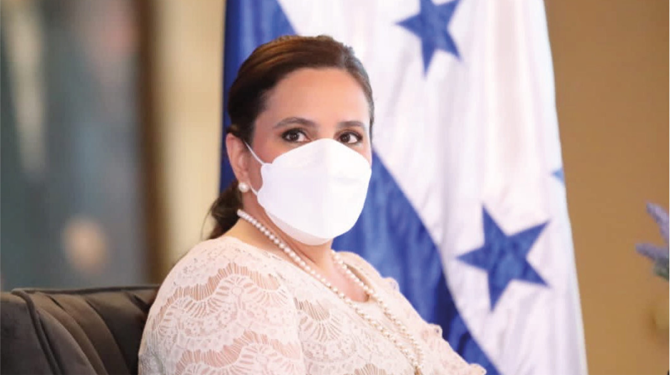 Primera dama de Honduras visitará la frontera sur de México