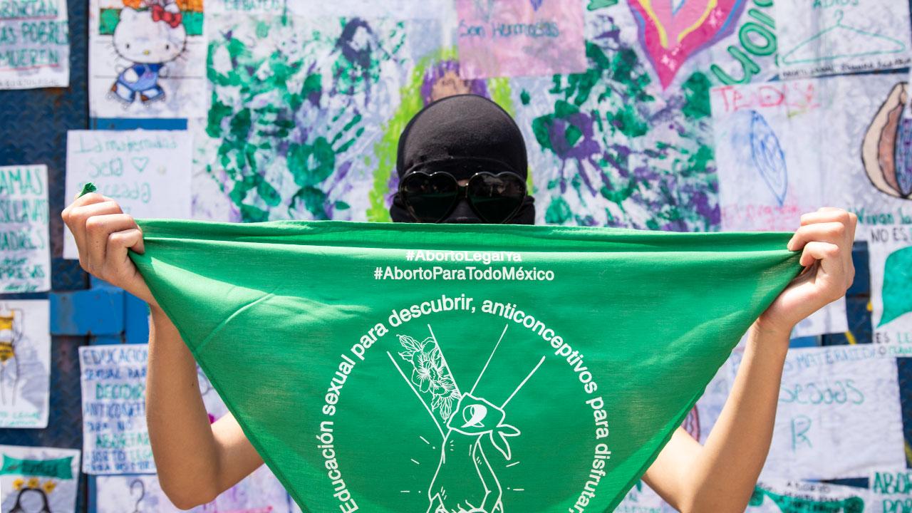 Fotogalería: La marcha verde en la CDMX por un aborto legal y seguro