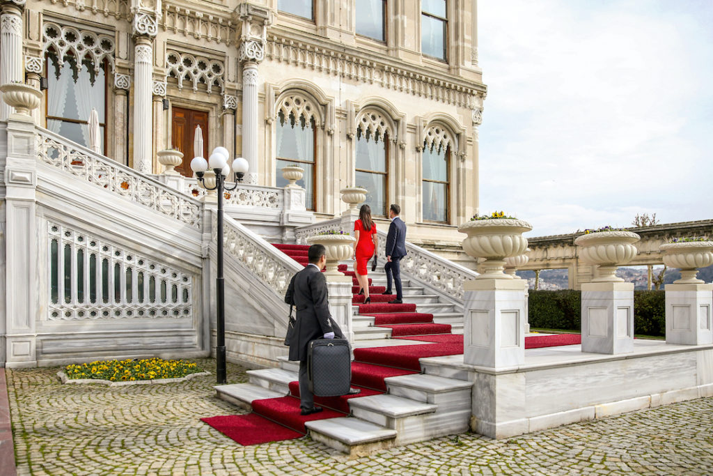 Servicio de mayordomo en Çirağan Palace Kempinski Istanbul