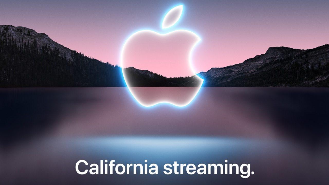 Apple confirma fecha de presentación del iPhone 13
