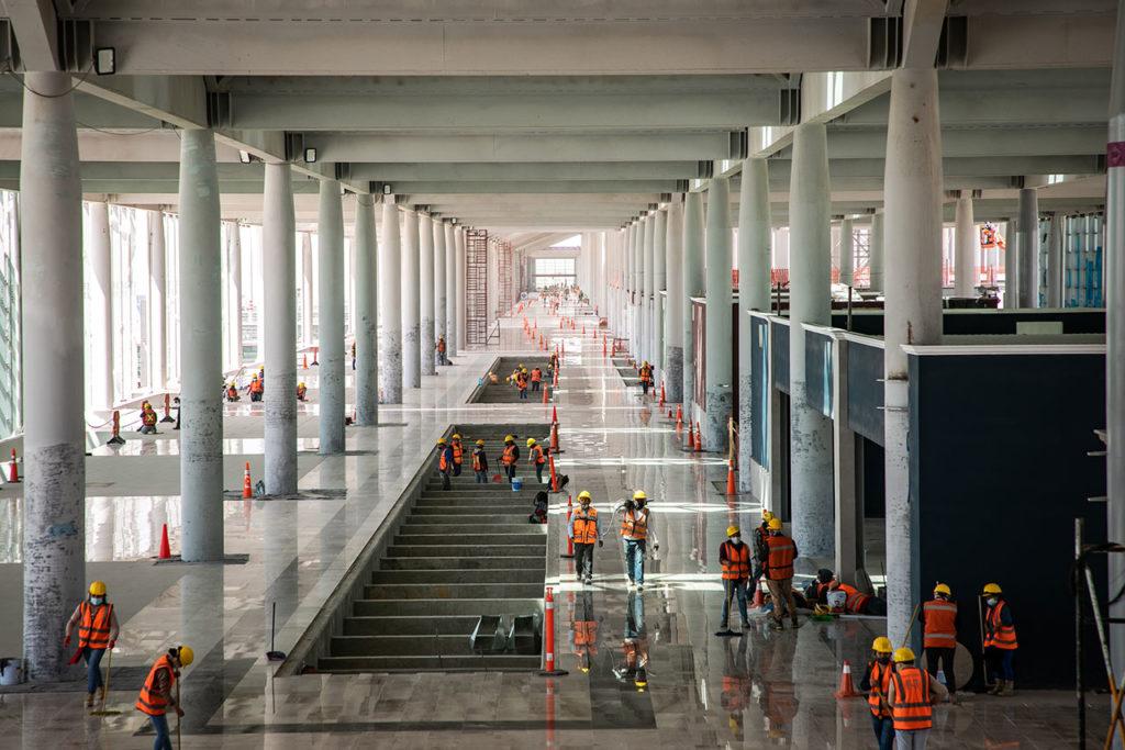 Construcción aeropuerto Felipe Angeles 19
