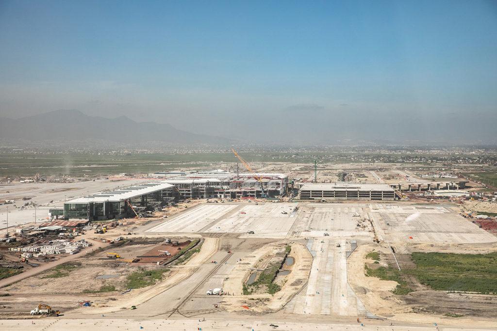 Construcción aeropuerto Felipe Angeles 2