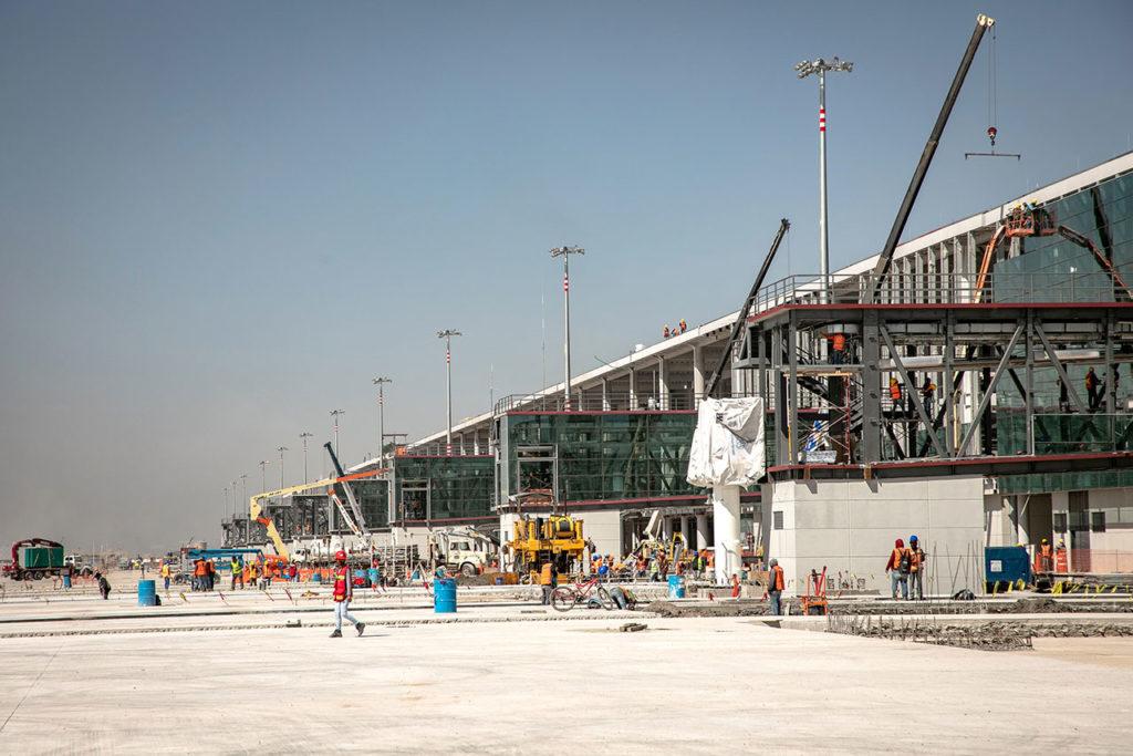 Construcción aeropuerto Felipe Angeles 9