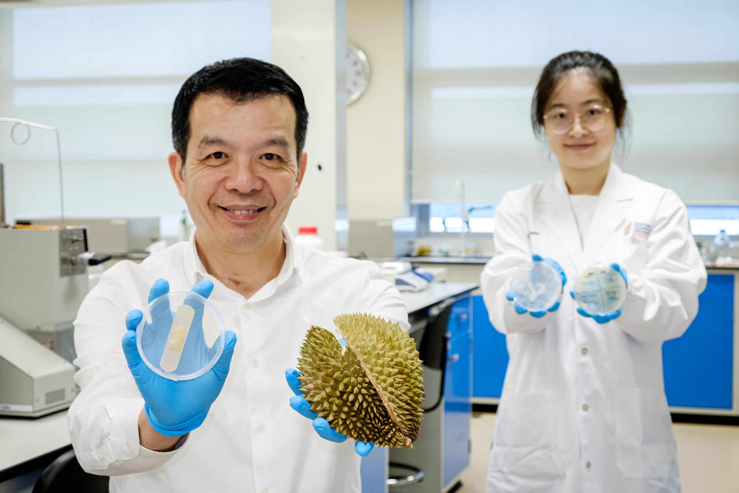 Científicos transforman sobras de frutas en vendajes antibacterianos