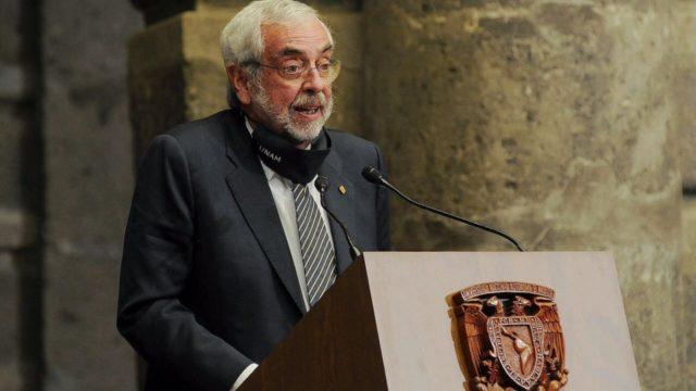 Enrique Graue, rector de la UNAM. Foto: CDMX