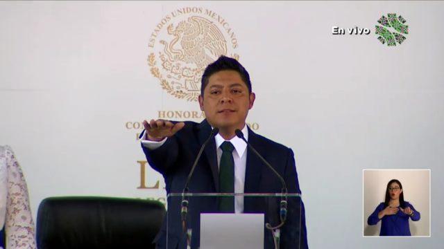 Ricardo Gallardo, gobernador de SLP. Foto: SLP