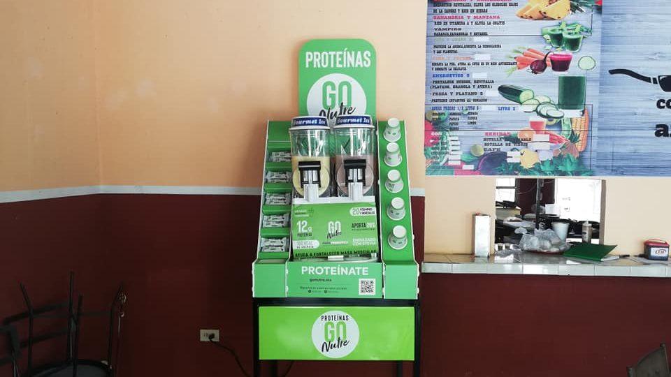Una máquina de frappé busca revolucionar la industria de suplementos alimenticios en México