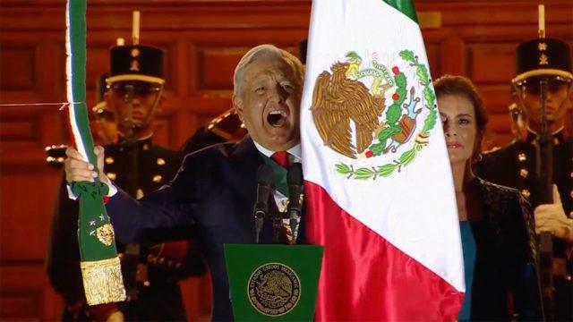 GRITO AMLO Andrés Manuel López Obrador