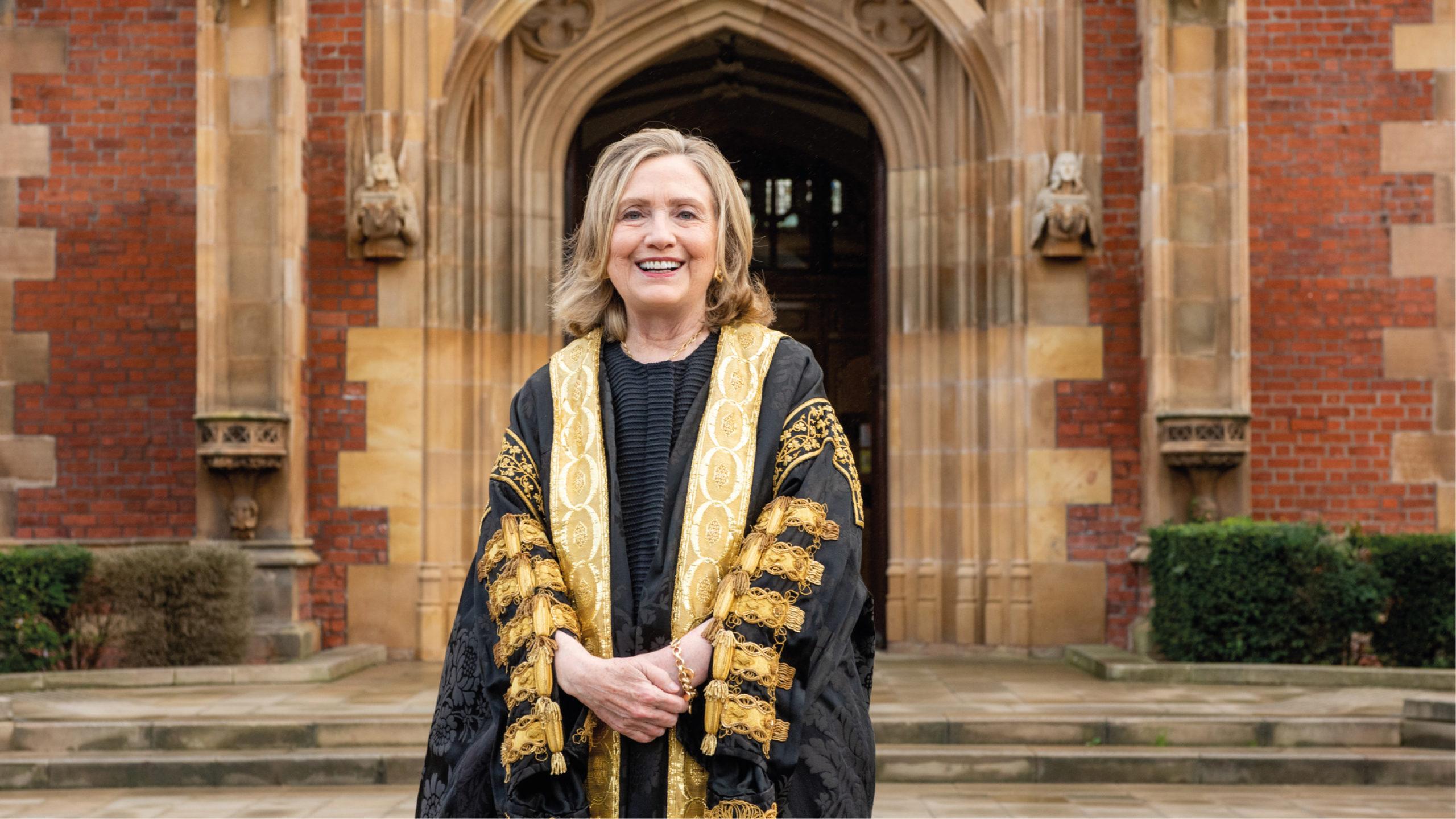 Hillary Clinton será rectora de una universidad en Irlanda