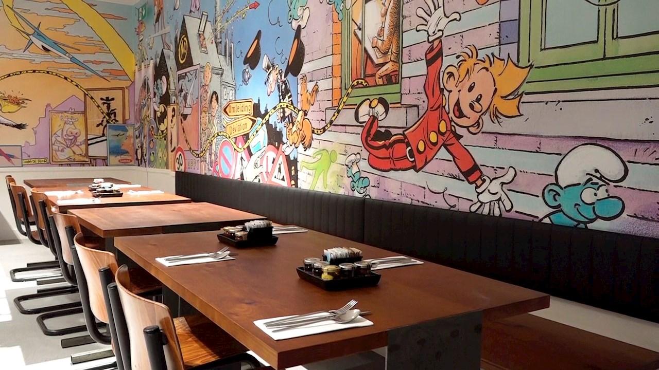 Abre el primer hotel dedicado al cómic en Bruselas