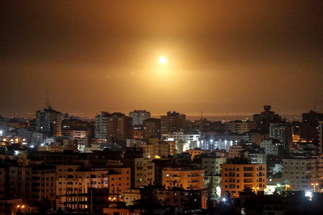 Israel bombardea Franja de Gaza y suman tres días de hostilidades