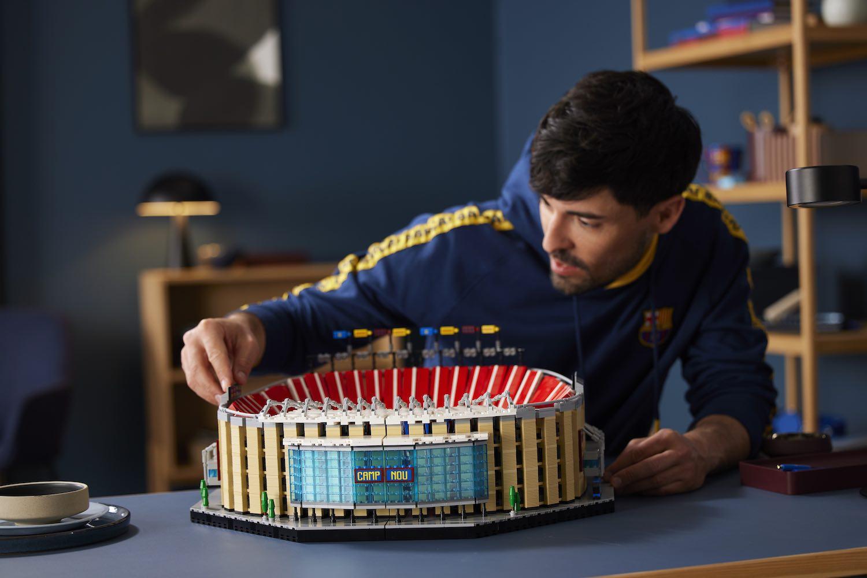LEGO presenta su modelo a escala del estadio FC Barcelona