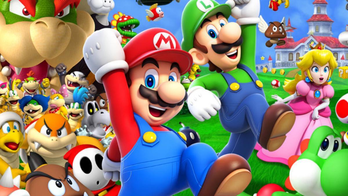 Mario Bros reparto película