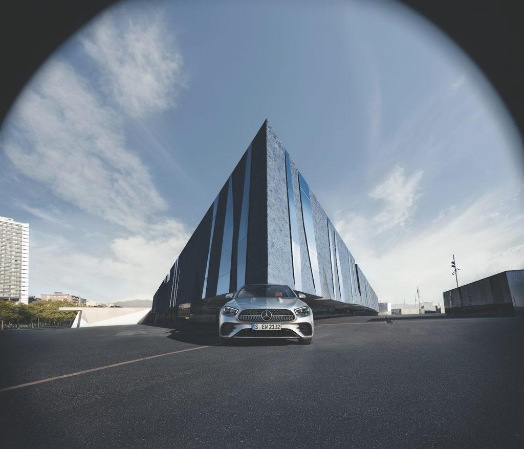 Mercedes Benz e 350 hibrído