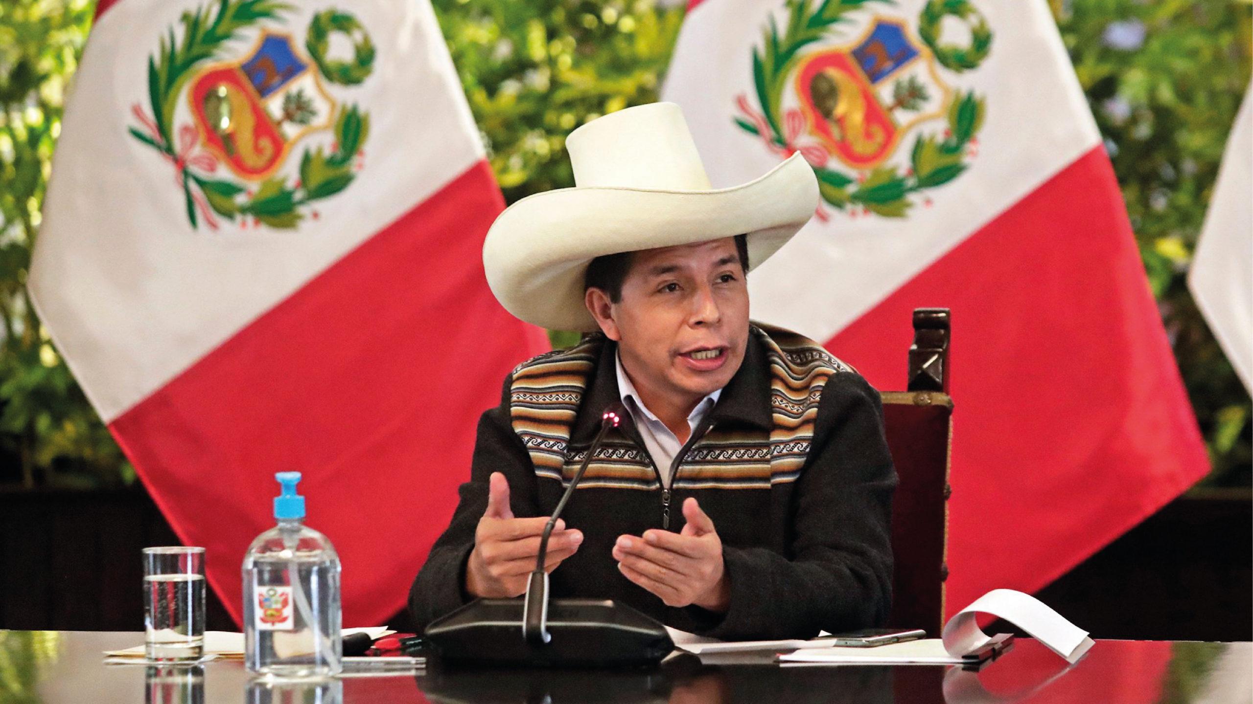 Pedro Castillo, presidente de Perú, viaja a México para cumbre de Celac