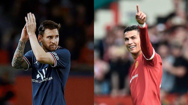 Leonel Messi Cristiano Ronaldo