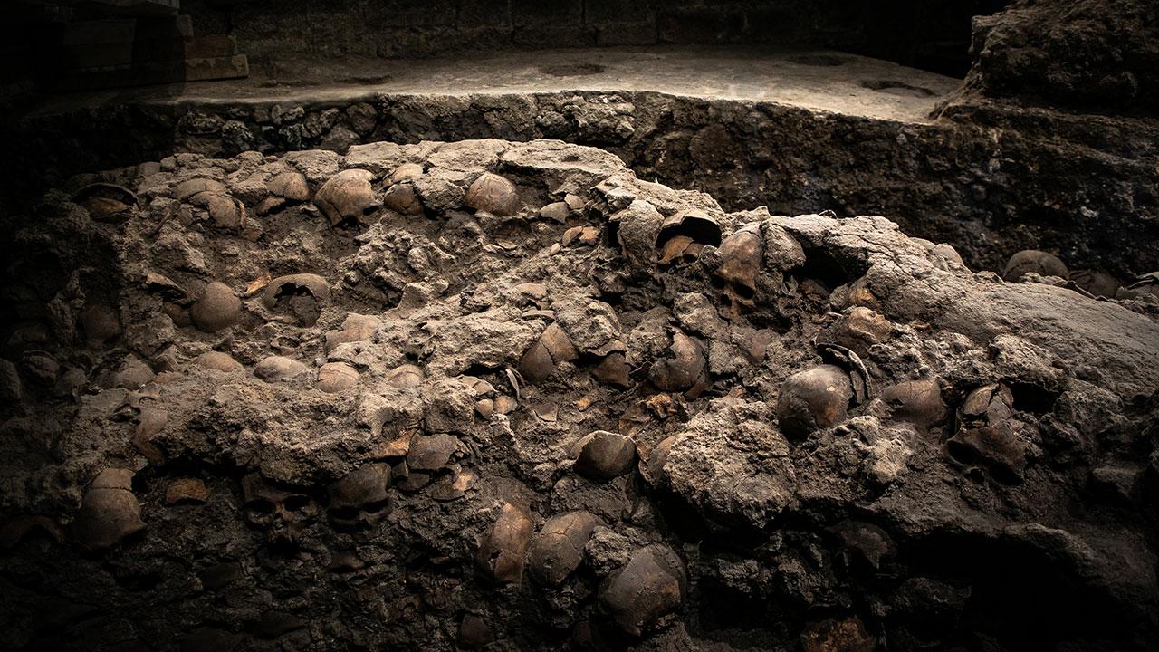 Tenochtitlan emerge por las ventanas arqueológicas de la Ciudad de México