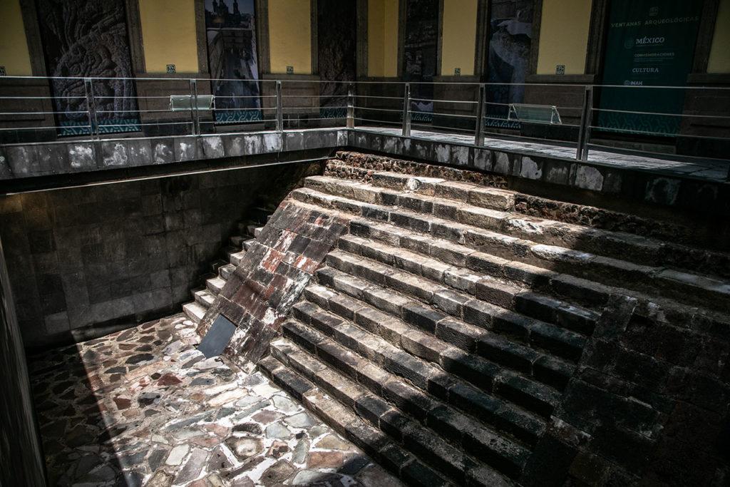 Ventanas arqueologicas Palacio del Marques 1