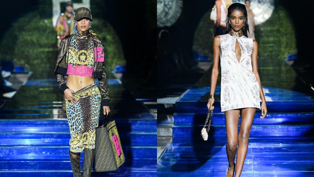 Fendi x Versace crean un momento único en la moda