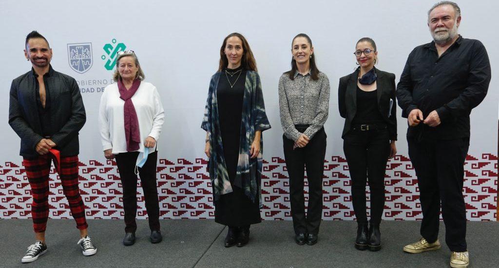 Dolores Heredia y Damián Alcázar, en el Consejo Asesor de Cultura de Sheinbaum