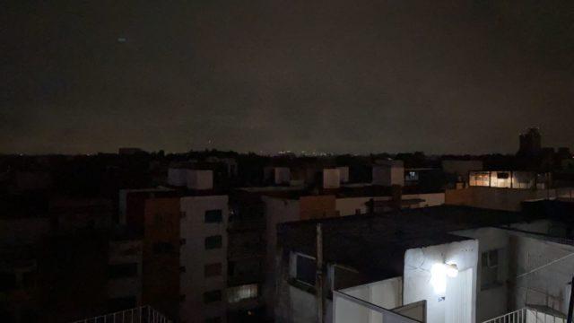 Algunas alcaldías de la CDMX se quedaron sin luz. Foto: Emmanuel Carrillo.