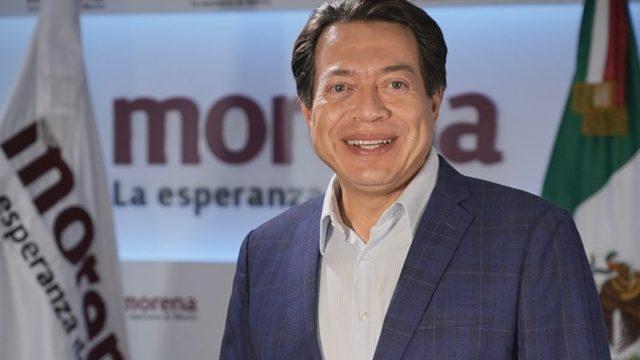 Mario Delgado Carrillo, presidente nacional de Morena. Foto: Morena.