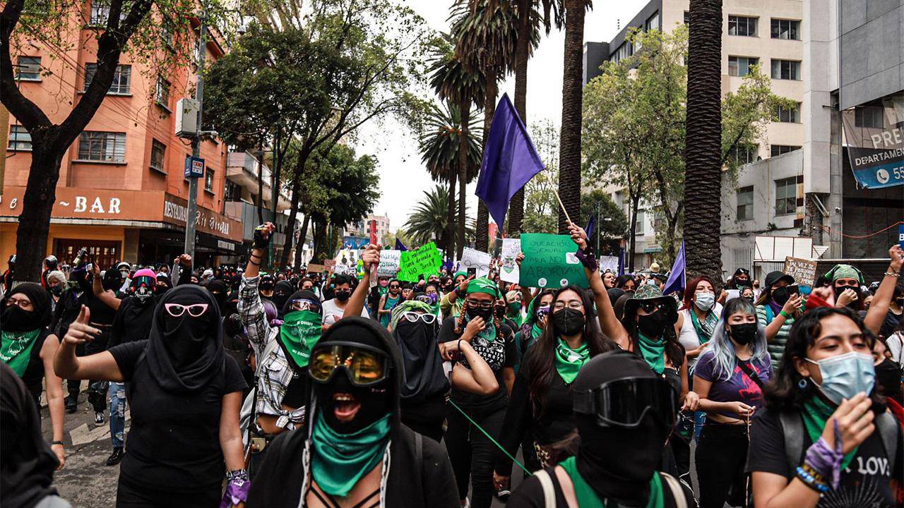Fotogalería: Marchan en México para exigir aborto legal y seguro