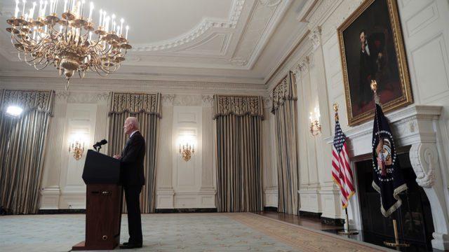 Biden anunció la vacunación obligatoria contra Covid-19 de todos los empleados del Gobierno federal de Estados Unidos.