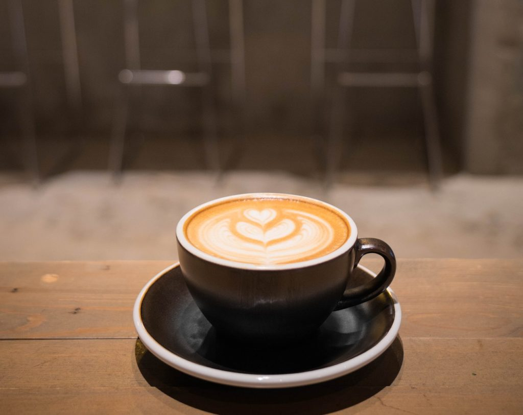 taza de café cafeína