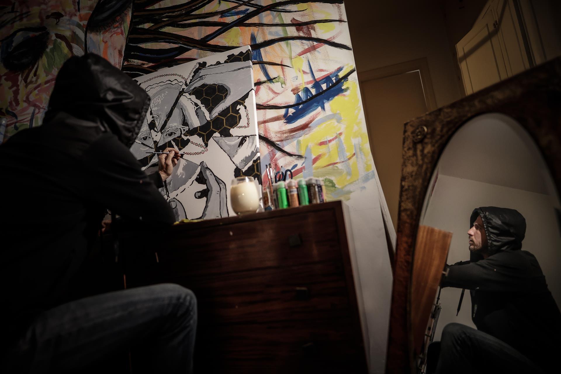 Criptoartista argentino pinta a famosos y dona sus ganancias a beneficencia
