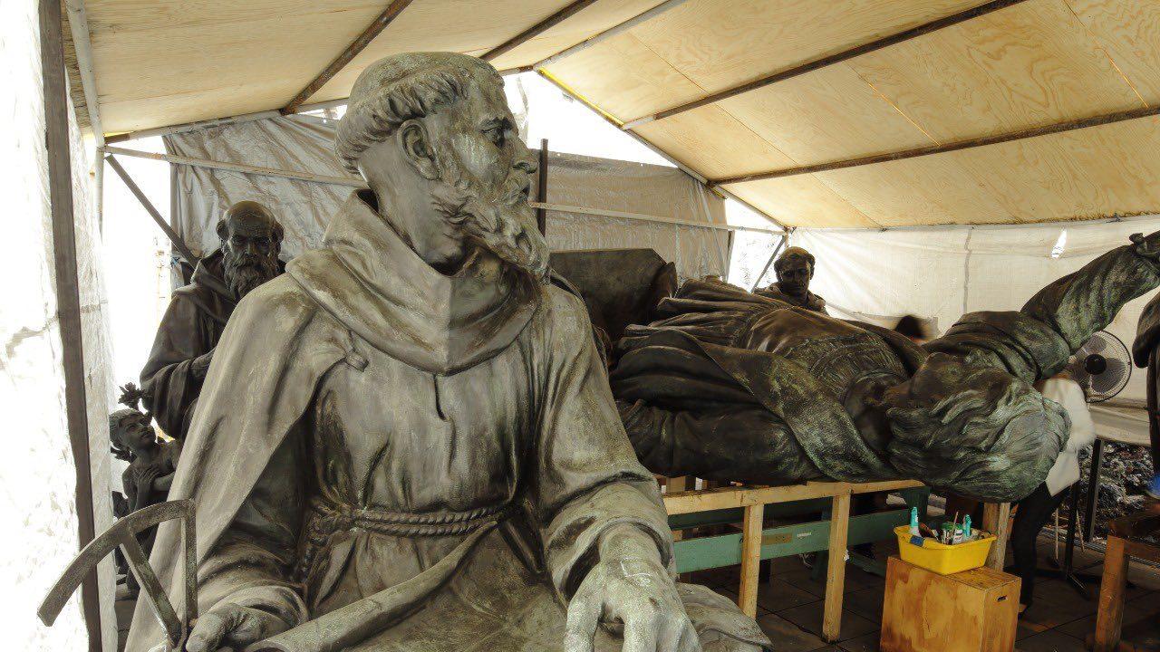 Confirmado: estatua de Colón será reubicada en el Parque América, en Polanco