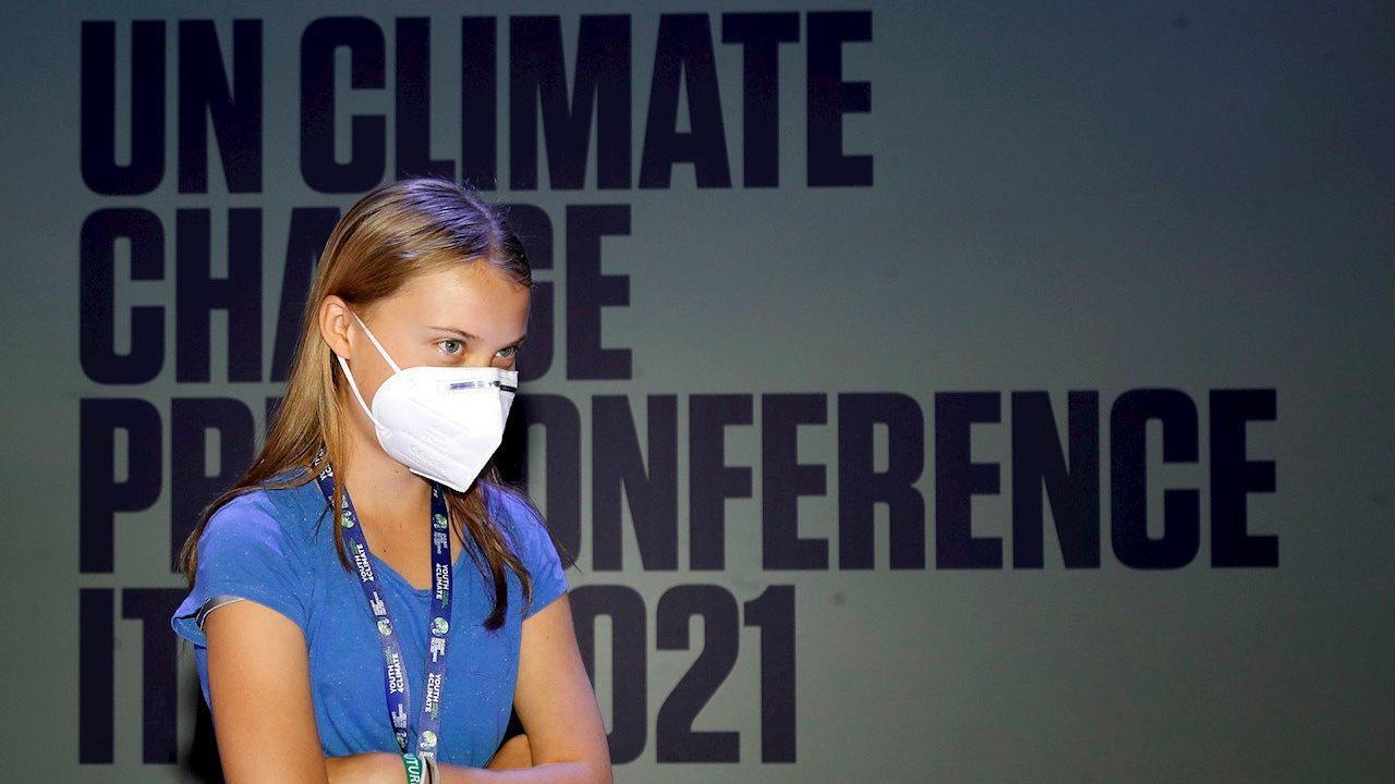 '30 años de bla bla bla': Greta Thunberg critica inacción ante cambio climático