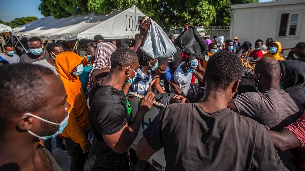 EU acelerará repatriación de haitianos en las próximas 96 horas
