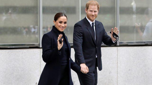 El príncipe Harry y Meghan Markle visitan el WTC de NY