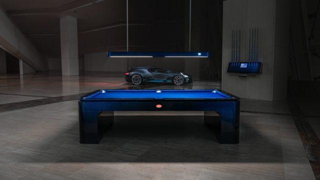 Mesa de billar Bugatti
