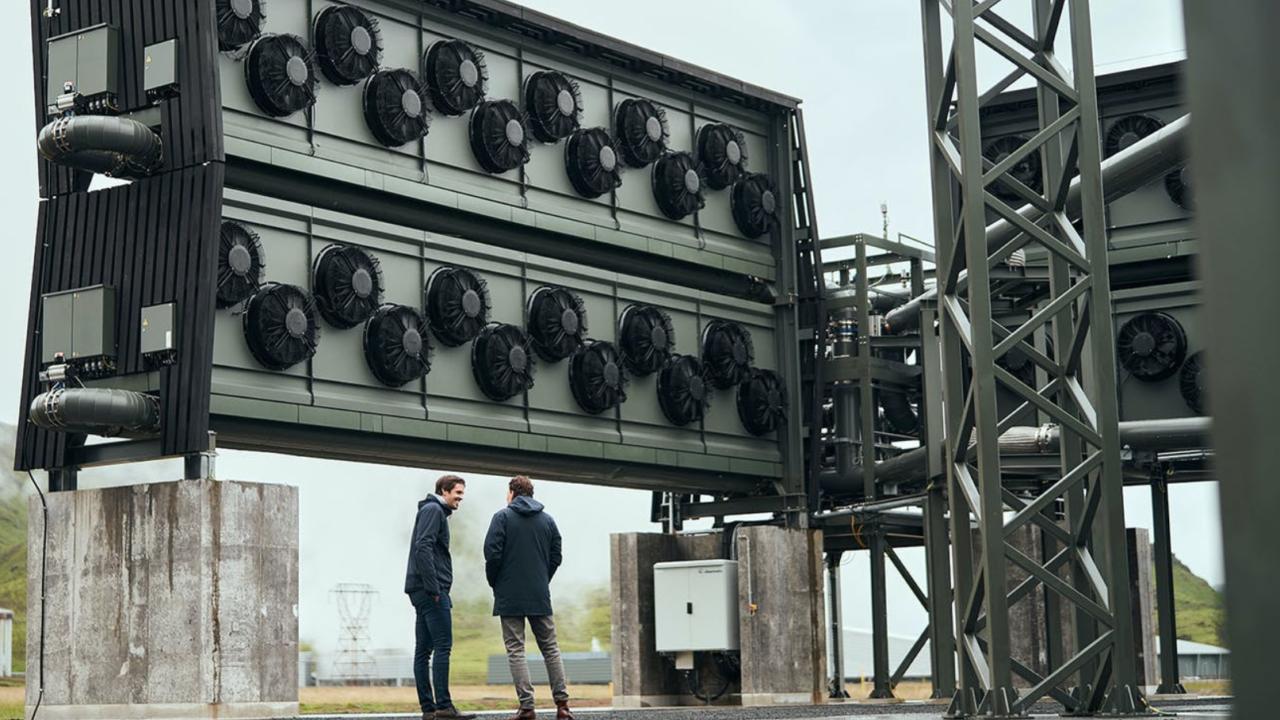 La planta de captura de carbono más grande del mundo ya funciona en Islandia
