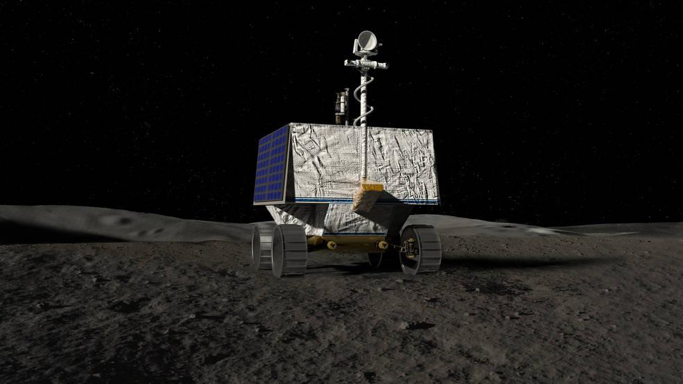 El rover VIPER de la NASA aterrizará en 2023 en polo sur de la Luna