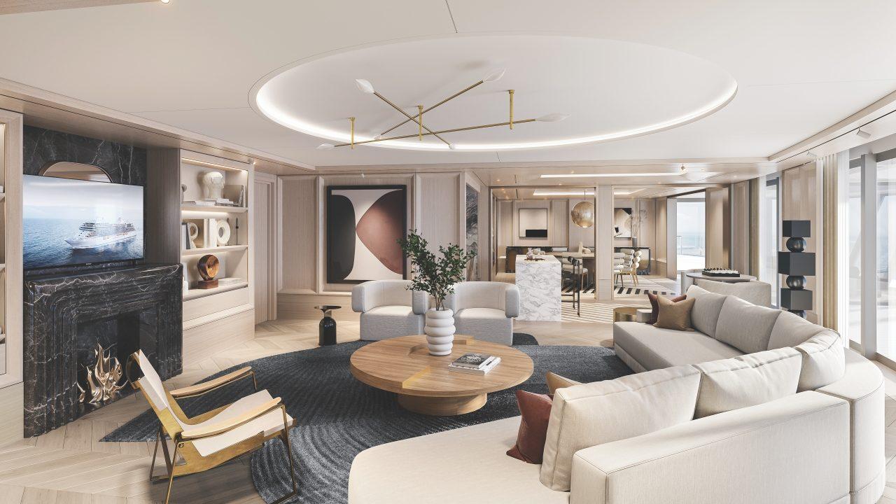 Disfrutar de esta sofisticada suite de lujo en un crucero no será barato