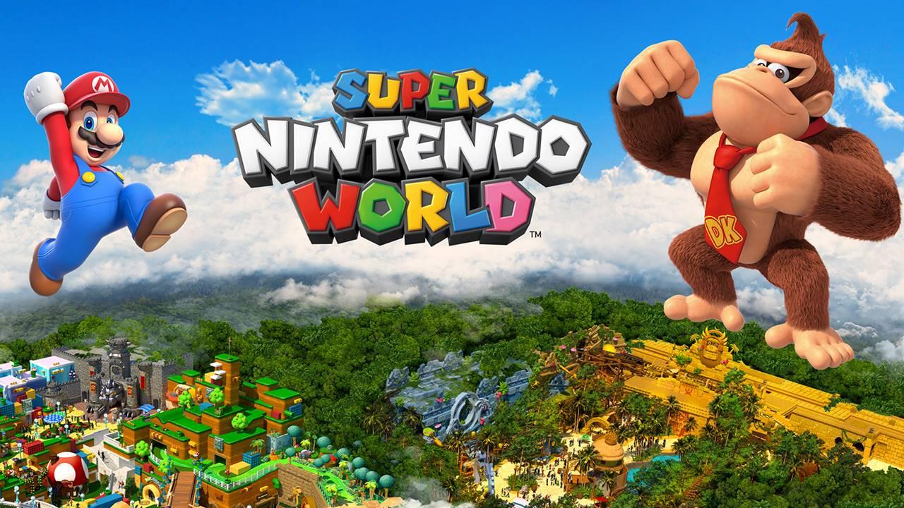 Nintendo anuncia un área de Donkey Kong en Universal Studios Japón